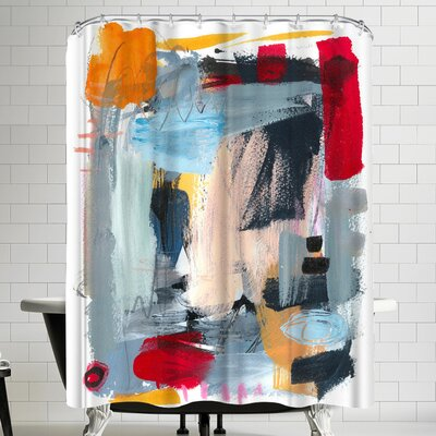 Olimpia Piccoli Summer Night Shower Curtain