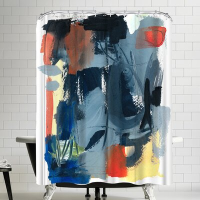 Olimpia Piccoli Through Here Shower Curtain