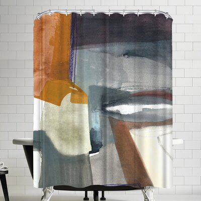 Olimpia Piccoli Traces Shower Curtain