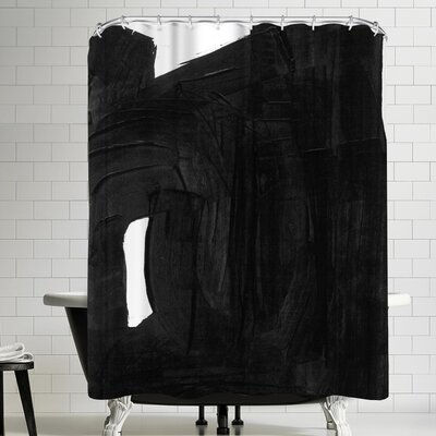 Olimpia Piccoli Without Words Ii Shower Curtain