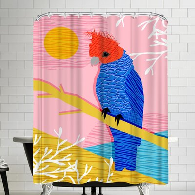 Wacka Designs Blazin Shower Curtain