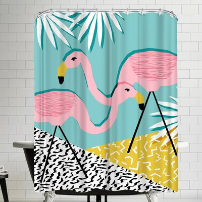 Wacka Designs Bro Shower Curtain