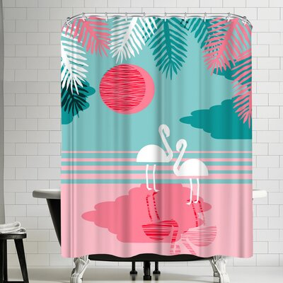 Wacka Designs Chill Vibes Shower Curtain