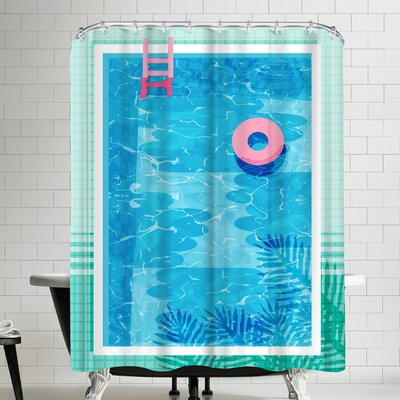 Wacka Designs Chillin Shower Curtain