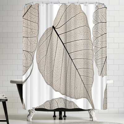 Maja Hrnjak Leaves 3 Shower Curtain