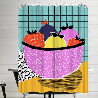Wacka Designs Crucial Shower Curtain