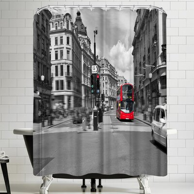 Maja Hrnjak London Shower Curtain