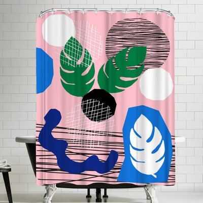 Wacka Designs Dang Skippy Shower Curtain