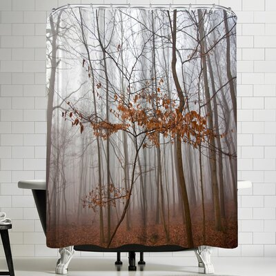 Maja Hrnjak Lonely Tree Shower Curtain