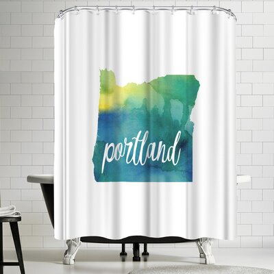 Paperfinch OR Portland Shower Curtain