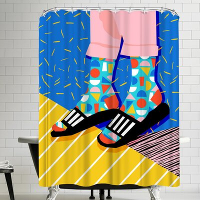 Wacka Designs Demo Shower Curtain