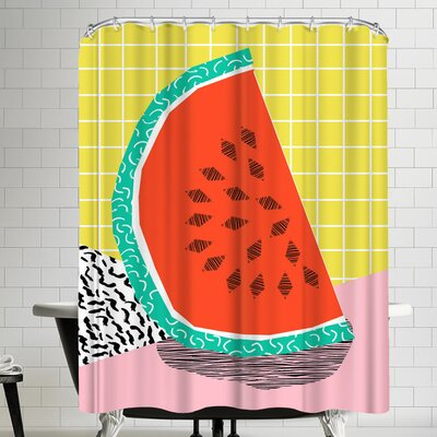 Wacka Designs Dyno Shower Curtain