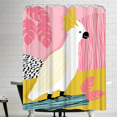 Wacka Designs Feel Free Shower Curtain