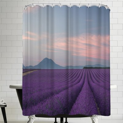 1x Lavender Field Shower Curtain