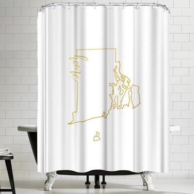 Paperfinch Rhode Island Home Shower Curtain