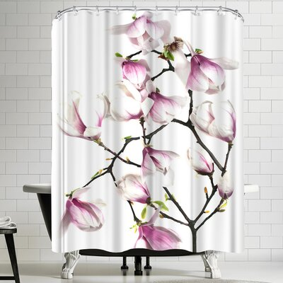 Maja Hrnjak Magnolia 6 Shower Curtain