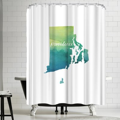 Paperfinch RI Providence Shower Curtain