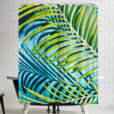 Maja Hrnjak Palm Shower Curtain