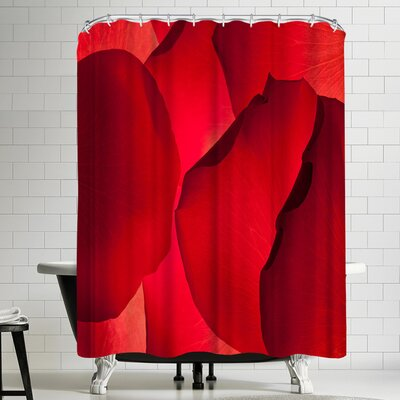 Maja Hrnjak Petals Shower Curtain
