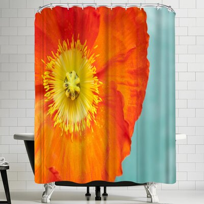 Maja Hrnjak Poppy Flower 4 Shower Curtain
