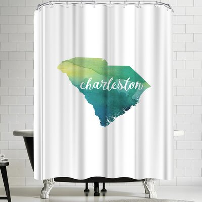 Paperfinch SC Charleston Shower Curtain
