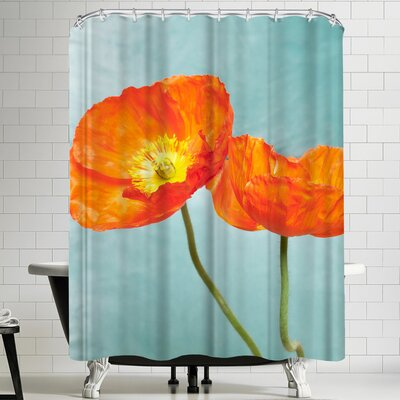 Maja Hrnjak Poppy Flowers 2 Shower Curtain