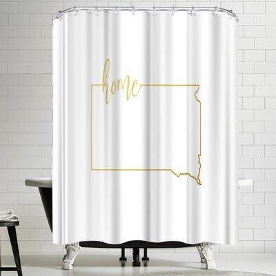 Paperfinch South Dakota Home Shower Curtain