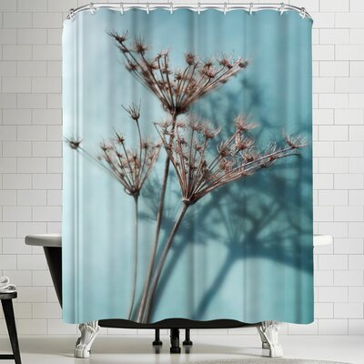 Maja Hrnjak Turquoise 1 Shower Curtain