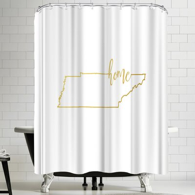 Paperfinch Tennessee Home Shower Curtain
