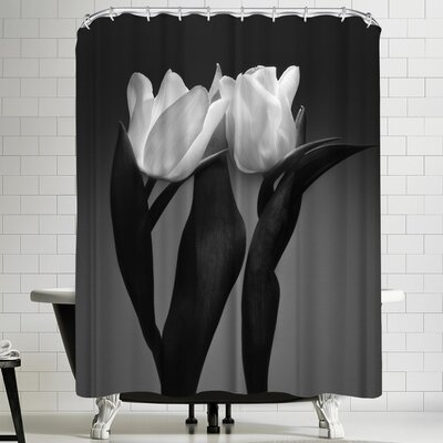 Maja Hrnjak Two Tulips Shower Curtain