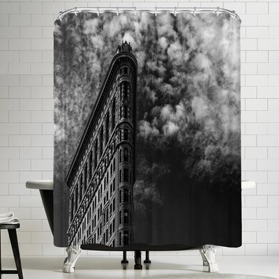 1x Nyc Flatiron Shower Curtain