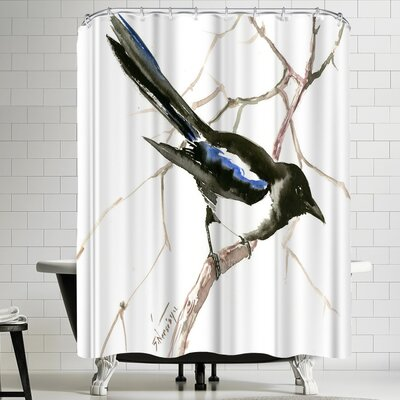 Suren Nersisyan Magpie Shower Curtain