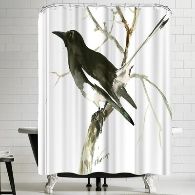 Suren Nersisyan Magpie 2 Shower Curtain