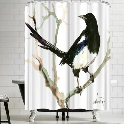Suren Nersisyan Magpie 4 Shower Curtain