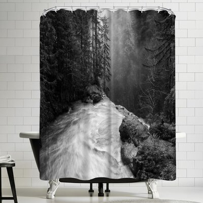 1x Over the Falls Shower Curtain