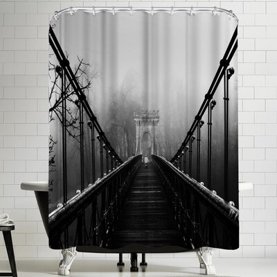 1x Alone Series Shower Curtain