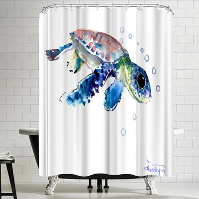 Suren Nersisyan Baby Sea Turtles 1 Shower Curtain