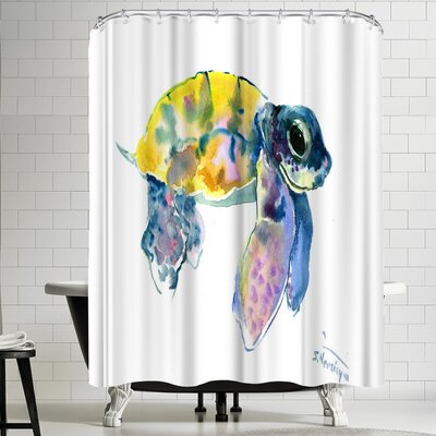Suren Nersisyan Baby Sea Turtles 4 Shower Curtain