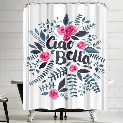 Elena Oneill Ciao Bella Shower Curtain