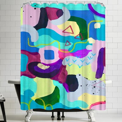 Deb McNaughton Frenzie Shower Curtain