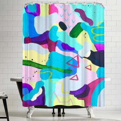 Deb McNaughton Manic Shower Curtain