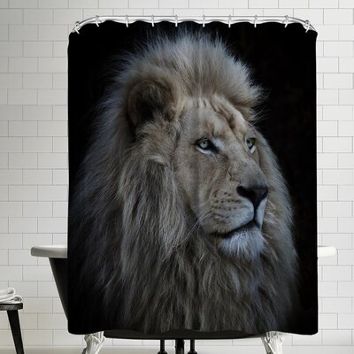 1x Proud Lion Shower Curtain