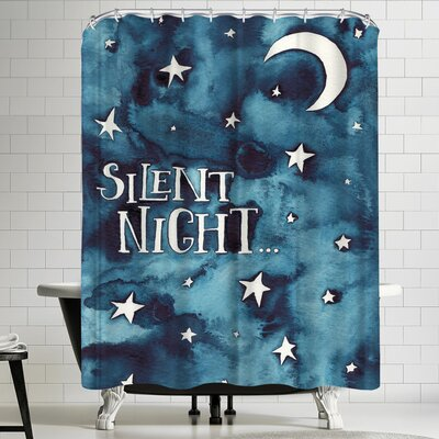 Elena Oneill Silent Night Shower Curtain