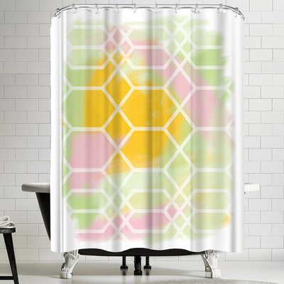 Ashlee Rae Through the Window Shower Curtain
