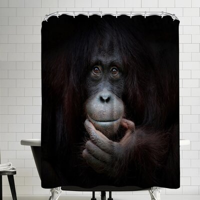 1x The Mirror Image Shower Curtain