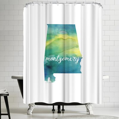 Paperfinch AL Montgomery Shower Curtain
