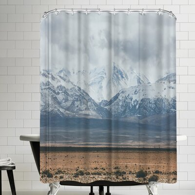 Luke Gram Atlas Mountains Morocco Shower Curtain