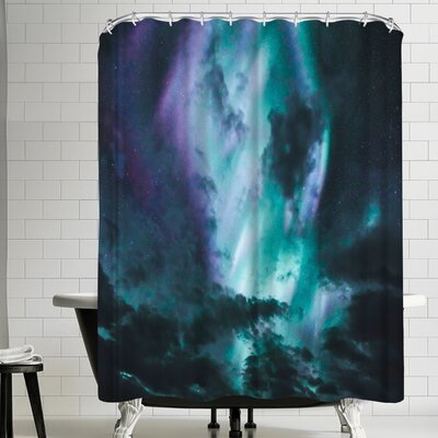 Luke Gram Aurora Borealis Shower Curtain