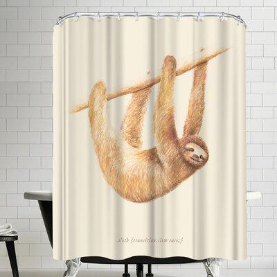 Florent Bodart Css Animals Sloth Shower Curtain