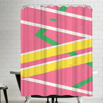 Florent Bodart Hoverboard Shower Curtain